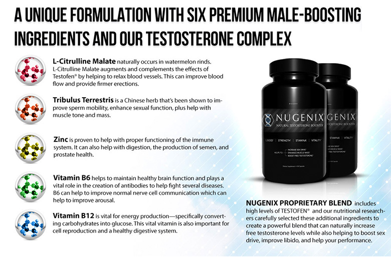 TestosteroneBooster.com Nugenix Testosterone Ingredients
