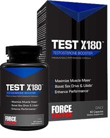 Test X180 - TestosteroneBooster.com